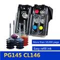 PG145 CL146 Navulbare inkt cartridge compatibel voor Canon pixma mg2410 MG2410 MG2510 Inkjet Printer, Gratis Krijgen 4 kleur inkt
