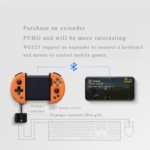Image 5 - Flydigi Wee2T PUBG For IOS Android Bluetooth Wireless Flashplay 6 Axis Adjustable Gamepad Game Controller