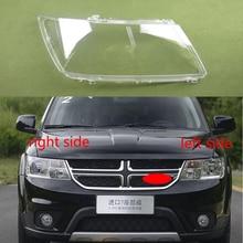 For Dodge Journey 2009 2010 2011 2012 2013 2014 2015 Headlamp Cover Transparent Headlamp Shell Lamp Shade Headlamp Shell Mask