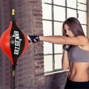 fight ball lomachenko punching ball boxing equipment training apparatus muay thai boxing trainer accessories speed fast ball gym Boxing Speed Ball Punching Hanging Ball Pear Boxing Bag for Sanda Muay Thai Agility Reflex Training and Kickboxing Free Fighting
