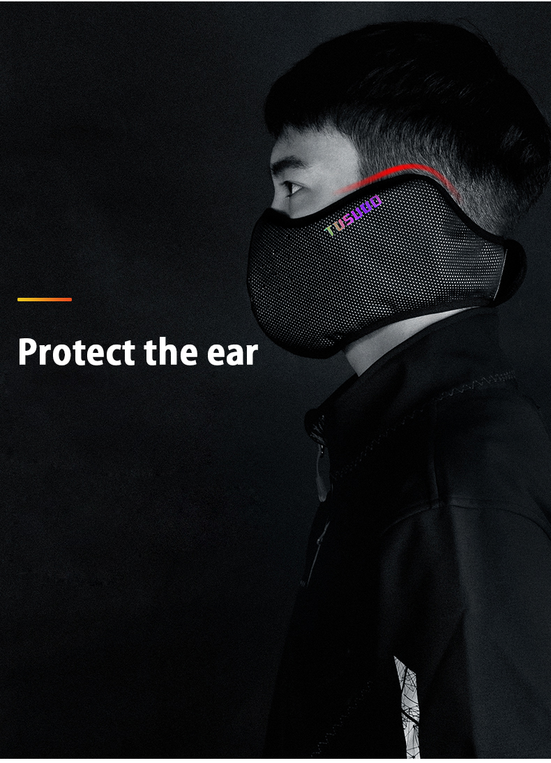 H99bb853ed75746038e1f1d790cd5cbb0d TOSUOD winter sport face cover bike cycling running mask ski mask facemask  Keep warm Breathable  Cycling Equipment