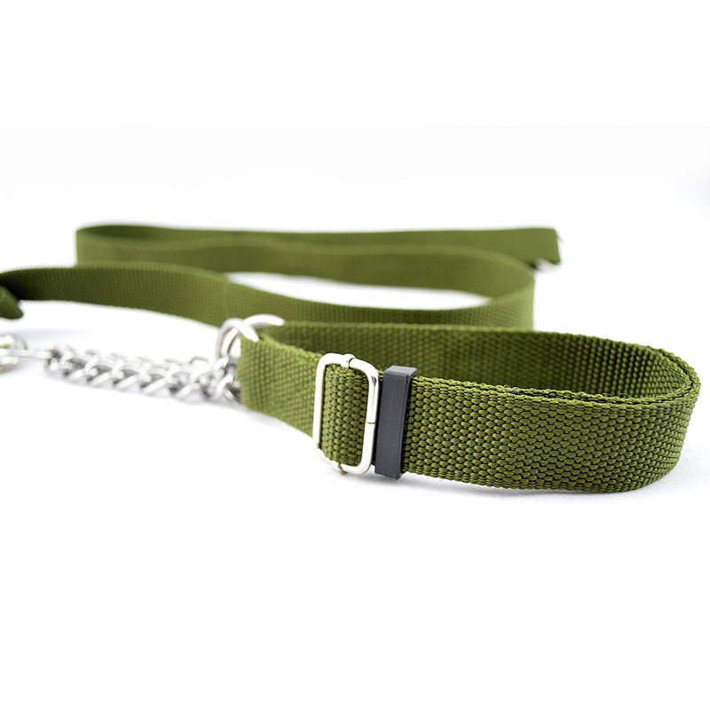Pet Haulage Rope Package Big Dog Traction Belt Iron Chain Army Green Traction Price
