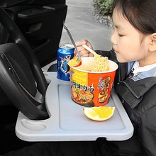1PC Car Steering Wheel Laptop Bracket Table Tray Auto Multi-function Food Dining Reading Writing Stand Holder 2 Size For Choice