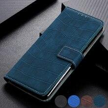 Étui pour samsung Galaxy Note 10 Plus S10 S9 Plus A10 A20 A30 A40 A50 A70 avec porte cartes magnétique