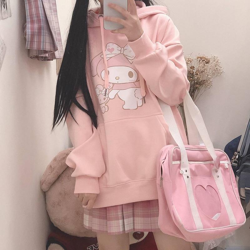 Kawaii My Melody Oversized Hoodie 2