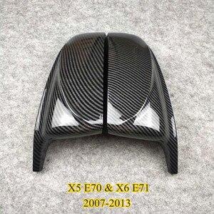 Image 5 - Coppia di accessori per auto coperchio specchietto retrovisore materiale ABS adatto per X3 X4 X5 X6 F25 G01 F26 G02 E70 F15 G05 E71 F16 G06