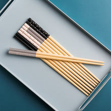 Креативные милые 5 пар наборов палочки для еды в японском стиле