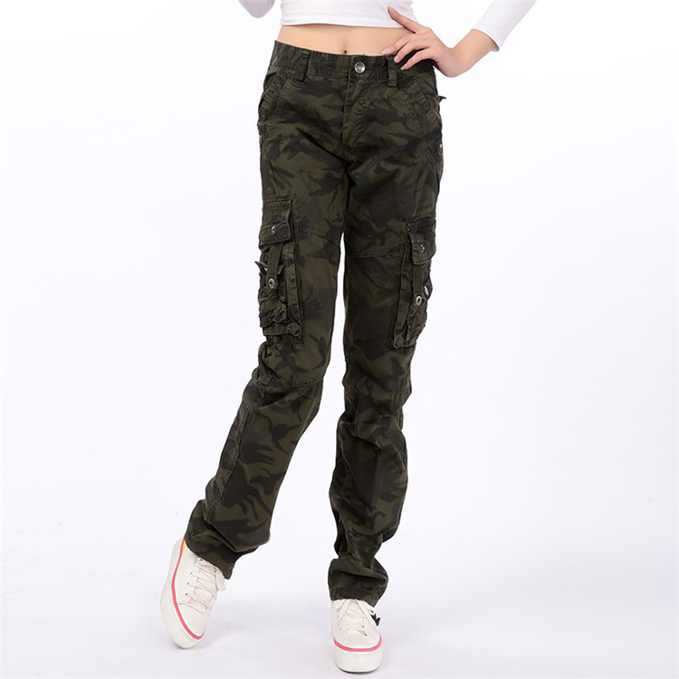 Wholesale Supply Outdoor COUPLE'S Outdoor Multi-pockets Bib Overall Camouflage Pants Casual A Generation Of Fat 9508-
