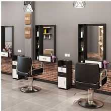 Salon Mirror Hairdressing-Shop of Table Integrated Wall-Mounted