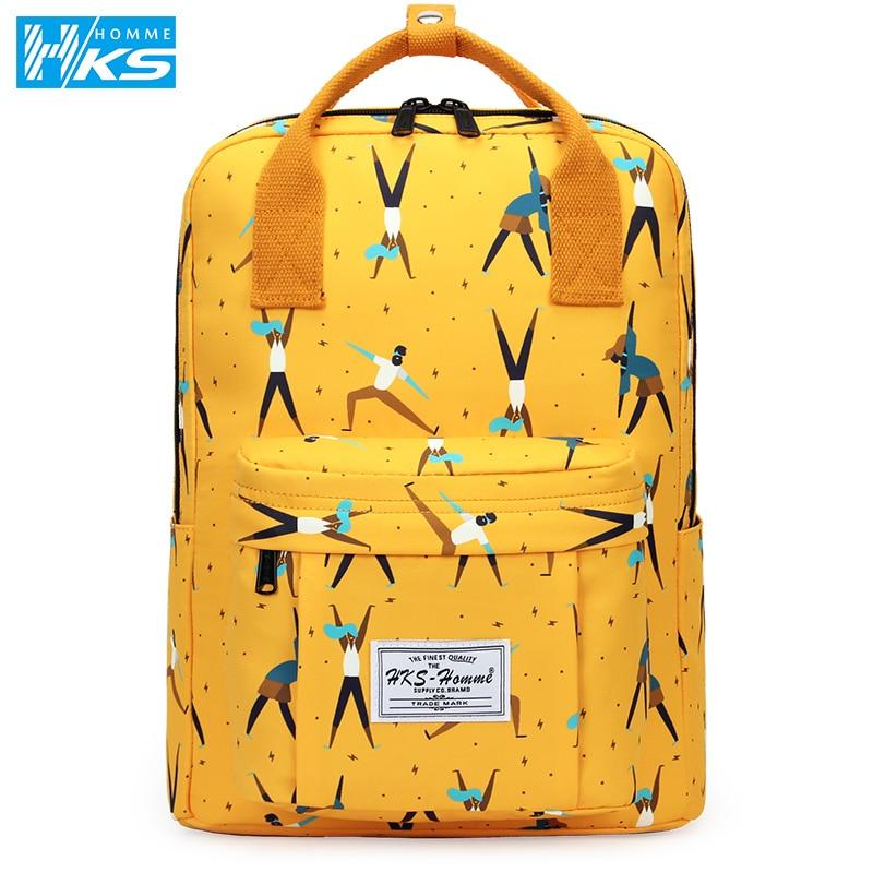 Fashion 2020 New Women Canvas Backpacks Waterproof School Bags For Teenagers Girls Big Cute Laptop Backpack Mochilas