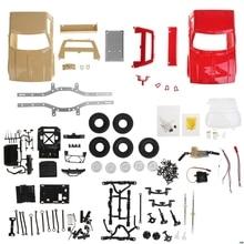 Top-Speed-Kit Off-Road-Truck Electric WPL 1:16 Toys Cars RC Mini Trucks15km/H 4WD Children