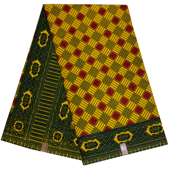 Fashion veritable wax africain real high quality pagne african hot 6yard ankara sewing fabric