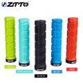 1 пара ZTTO AG38 ручки для горного велосипеда MTB горный велосипед велосипедный замок ручки Прочный BMX резиновое рупорное анти-скольжения Запчаст...