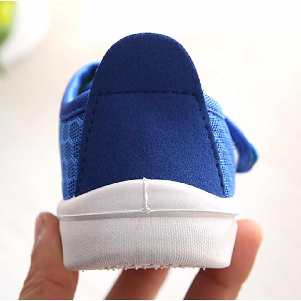 חדש אופנה ילדי נעלי תינוקות פעוט ילדי תינוק בנות בני קריקטורה רשת לרוץ ספורט מקרית סניקרס נעלי 2019