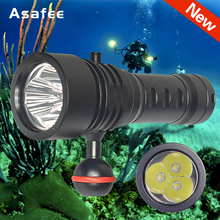 2020 New Professional Diving Flashlight XML L2 Portable Scuba Dive torch 200M Underwater IPX8 Waterproof 18650 Flashlights sitemap 12 xml