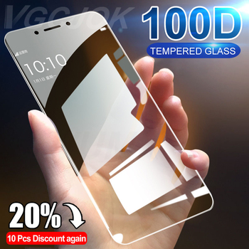 100D Full Cover Protective Glass For Xiaomi Redmi Note 4 4X 5A Pro Tempered Glass For Redmi 5 Plus 6 6A 7A Screen Protector Film 1