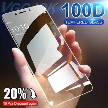 Перейти на Алиэкспресс и купить 100D полное покрытие Защитное стекло для Xiaomi Redmi Note 4 4X 5A Pro закаленное стекло для Redmi 5 Plus 6 6A 7A Защитная пленка для экрана