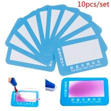 Blu-ray test card Paper anti-blue light glasses lens test card High Definition Test Blu-ray Tools dire straits alchemy live blu ray