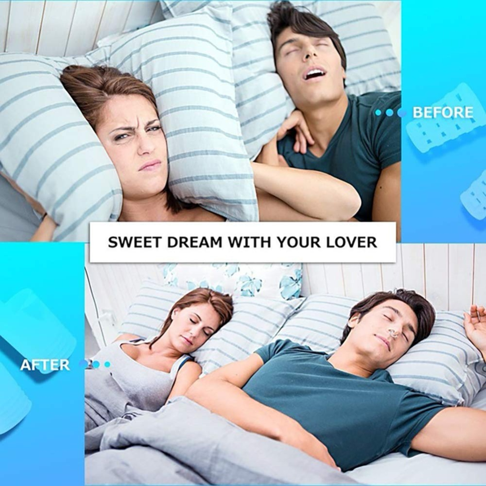 8PCS per set Anti Snoring Devices in Advanced Tubular shape for Snoring Solution 5
