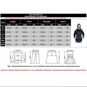 Image 5 - Winter Jacket Women New 2020 Autumn Warm Down Jacket female Long Parkas Big Size XXXL Women Winter Coats Outwear