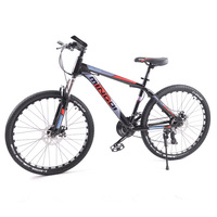 GMINDI High quality 26 inch mountain bike with 24 speed adjustable carbon steel frame double disc brake  free shipping