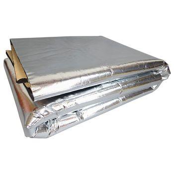 Mata pochłaniająca dźwięk do samochodu hałas maska izolacyjna osłona silnika tanie i dobre opinie CN (pochodzenie) Kaptur Aluminum Foil Fiberglass Made of Composite Foam 140x100cm
