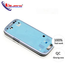 New Housing Case Middle Frame Plate for Samsung S3 I9300 i9305 i9308 i747 t999 Middle Frame Chassis Housing Replacement(China)