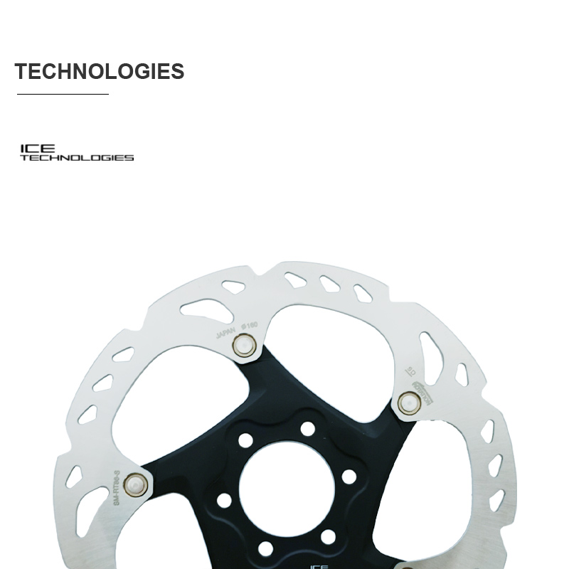 SHIMANO DEORE XT M8000 SLX - 6-Bolt - Disc Brake Rotor SM-RT86 / SM-RT76 - 203/180/160 mm Original parts
