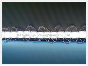 Image 4 - LED אור מודול הזרקת COB עם עדשת קולי sealling DC12V 2.4W 240lm 34mm X 34mm IP65 סופר איכות 3 שנה אחריות CE