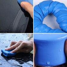 100g lavagem de carro argila carro de limpeza detalhando produtos azul argila mágica carro automático limpa barra de argila mini handheld carro arruela
