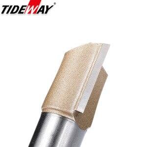 Image 5 - Tideway ישר נתב Bits 1/2 1/4 שוק כפול חליל לצלול כרסום קאטר קרביד הטה נגרות זמירה חטוט כלי