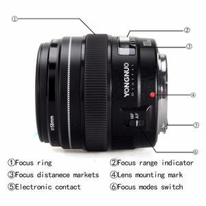 Image 5 - YONGNUO 100 มม.YN100mm F2 ขนาดใหญ่ Medium Telephoto PRIME เลนส์สำหรับ Canon EF Mount 5D 5D IV 1300D T6 760D 1300D กล้อง Nikon