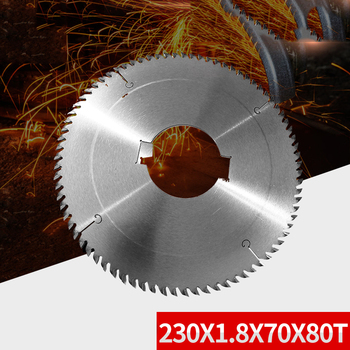 LIVTER Solid wood multi-saw saw blade 230X1.8X70X80T cemented carbide woodworking saw blade non-burr circular saw blade
