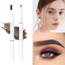 5-Color Double-Headed Eyebrow Pencil, Waterproof, Sweat-Proof, No Makeup, No Smudge, Eyebrow Pencil, Eyebrows Brush