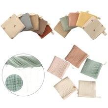 5 шт полотенце детское для лица банное носовой платок хлопковая
