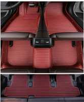 Gute qualität! Custom special auto fußmatten für Mazda CX-9 7 sitze 2019 wasserdicht auto teppiche für CX9 2020-2017, freies verschiffen