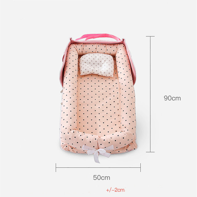 Baby Cradle Bumper Nest Portable 2