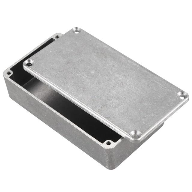 Guitar Effects Pedal Aluminum Stomp Box Enclosure for DIY Guitar Pedal Kit 1590B