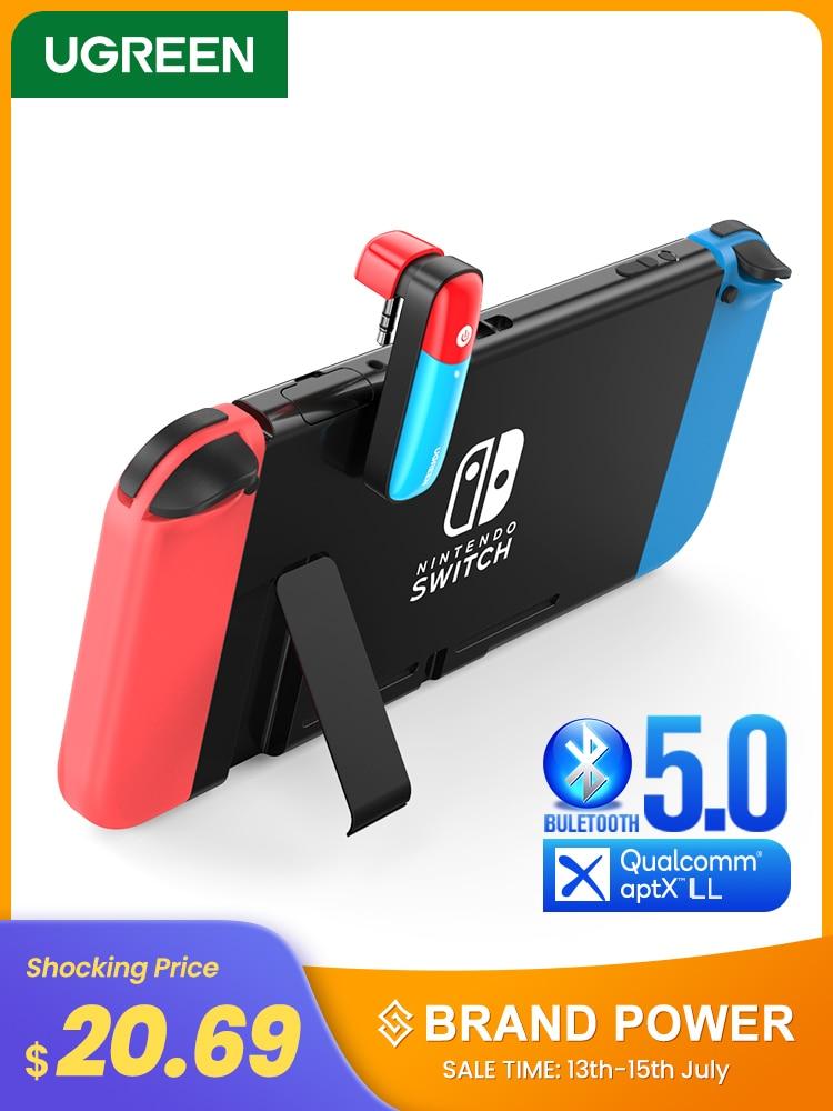 UGREEN Transmitter-Adapter Switch Audio Nintendo Aptx Ll Bluetooth 5.0