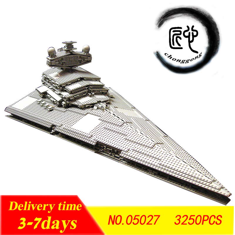 New the Star Destroyer Set Model fit star wars figures model Building Blocks Bricks Toys <font><b>75188</b></font> Gifts kid DIY boys image