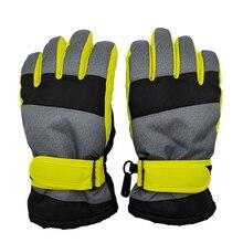 Детские Зимние перчатки для детей 4-7 лет, 8-12 лет, 12-16 лет, водонепроницаемые ветрозащитные лыжные перчатки для мальчиков, уличные перчатки для катания на сноуборде, детские спортивные перчатки