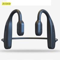 Auriculares inalámbricos de conducción ósea, audífonos deportivos estéreo con Bluetooth y micrófono, Larga modo de reposo tiempo