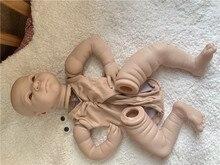 Кукла реборн 55 см, набор, очень мягкая на ощупь, без рисунка, с полными конечностями, детали для кукол «сделай сам», подарок на день рождения д...