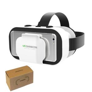 Image 5 - VR SHINECON 5.0 Glasses Virtual Reality VR Box 3D Glasses For 4.7 6.0 inch Phone