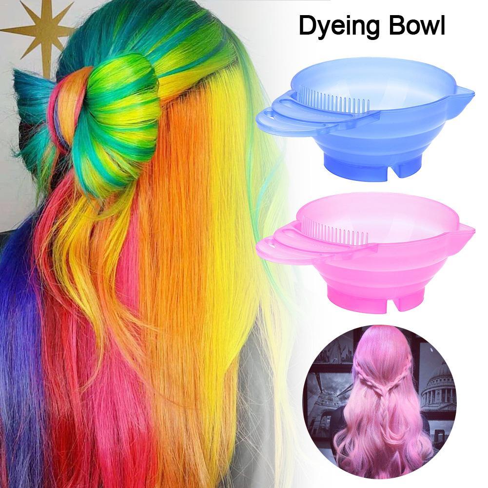 Dyeing Bowl Professional Hair Dye Bowl Multi-purpose Simple Hair Dye Bowl For Hair Salon High-quality Quick