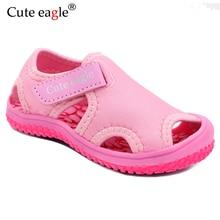 Summer children's sandals 2020 new hollow soft bottom Girls beach shoes children's toddler shoes wear non-slip Quick dry Sandals