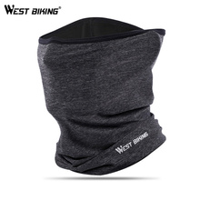 WEST BIKING Summer Cycling Face Mask Silky Skin Breathable Hiking Camping Outdoor Bicycle Scarf Sport Headband Neck