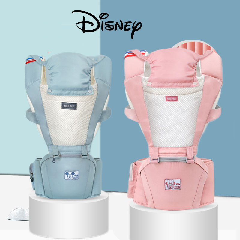 Disney Baby Carrier Kangaroo Toddler Sling Wrap Portable Infant Hipseat Soft Breathable Adjustable Hip Seat