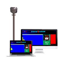 Grand Pro GAS 60 AI Multi people body temp. monitoring system Joint Develop with Baidu