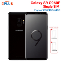 Brand New Original Samsung Galaxy S9 G960F 4GB 64GB Global Mobile Phone 5.8 Exynos 9810 Octa core NFC 4G Android SmartPhone